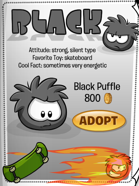 black-puffle